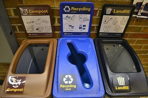 waste bins